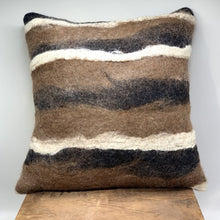 Load image into Gallery viewer, Castanos - Felted Pillow