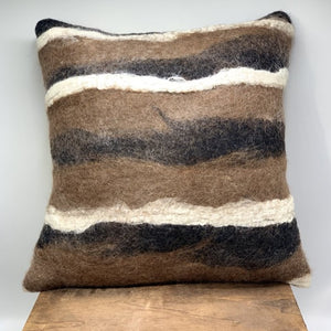 Castanos - Felted Pillow