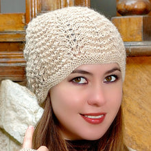 Load image into Gallery viewer, Lace Alpaca Hat