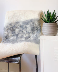 Tai - Felted Throw