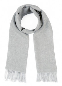 Woven & Brushed Baby Alpaca Scarf
