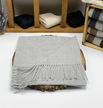Load image into Gallery viewer, Woven & Brushed Baby Alpaca Scarf