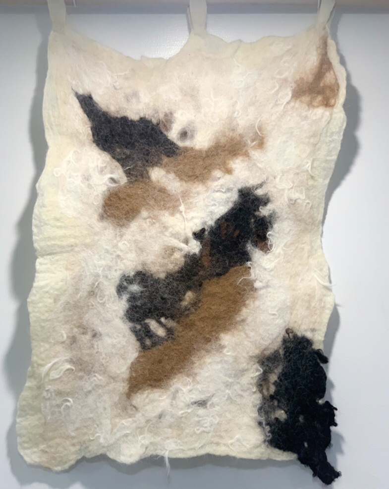 Wayra - Felted Wall Art