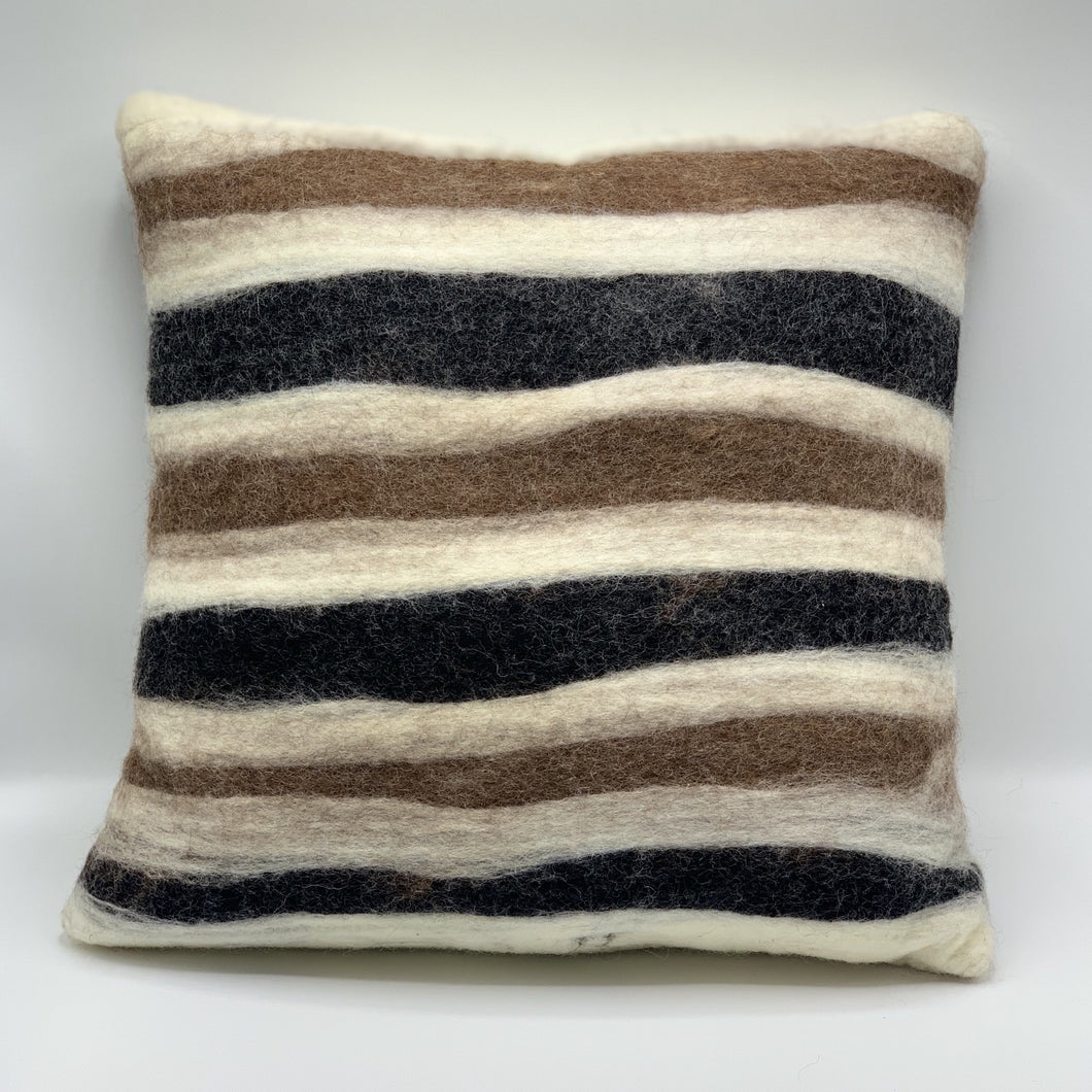 Terra - Felted Pillow