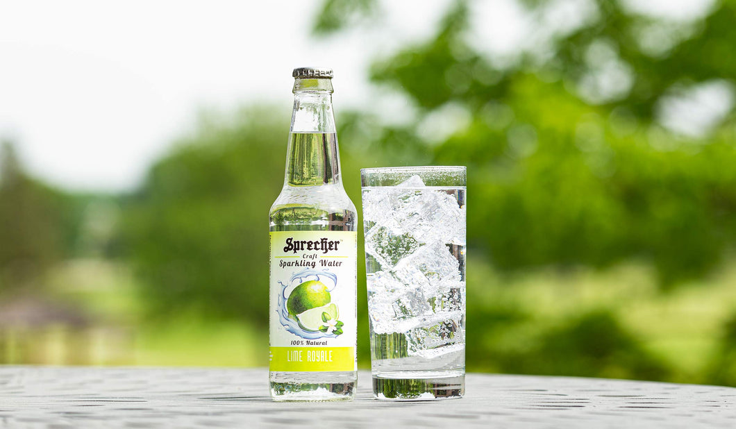 Lime Royale Sparkling Water