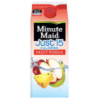 Minute Maid, Just 15 Calories Fruit Punch, 59 Fl. Oz. - Water Butlers
