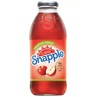 Snapple Apple, 16 fl oz Glass Bottles, 6 Count - Water Butlers
