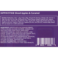 Dippin' Stix Sliced Apples & Caramel, 2.75 oz, 5 Count - Water Butlers