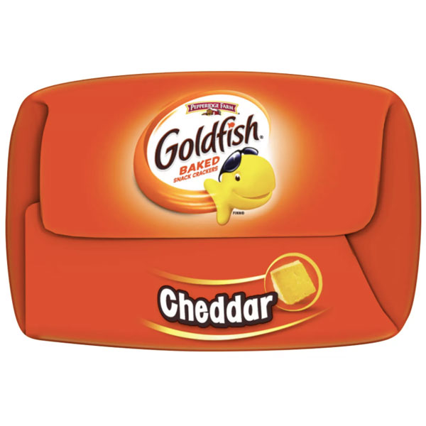 Pepperidge Farm Goldfish Cheddar Crackers, 6.6oz - Water Butlers