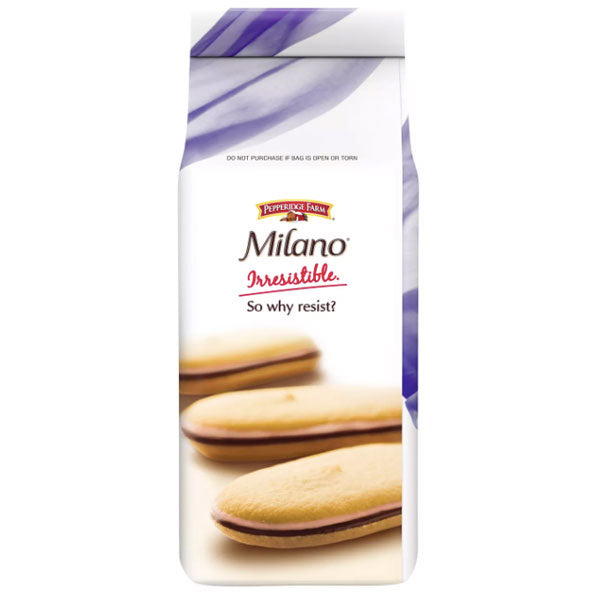 Pepperidge Farm Milano Raspberry Cookies, 7oz - Water Butlers