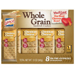Lance Whole Grain Cheddar Cheese Sandwich Crackers, 8 Ct - Water Butlers