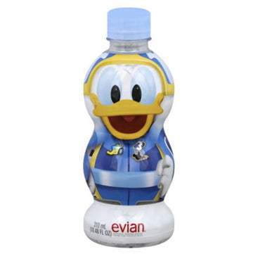 Evian Natural Spring Water Disney Donald Duck, 10.48 Fl Oz