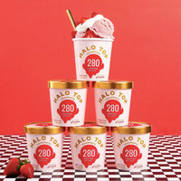 Halo Top Strawberry Ice Cream, 1 pint - Water Butlers