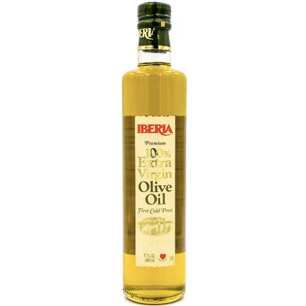 Iberia Premium 100% Extra Virgin Olive Oil 17 oz - Water Butlers