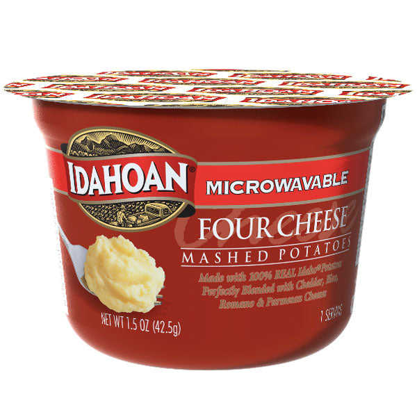 Idahoan Buttery Four Cheese Mashed Potatoes 1.5 oz, 4 Ct - Water Butlers