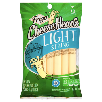 Frigo Cheese Heads, Light String, 12pk