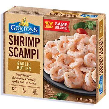 Gorton's Garlic Butter Shrimp Scampi, 12 oz
