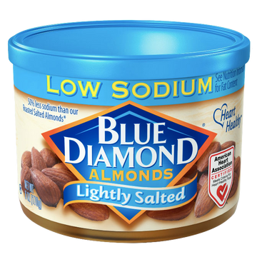 Blue Diamond Almonds, Lightly Salted, 6 oz
