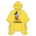 Disney Rain Poncho, Kids Mickey (Florida)