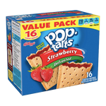 Pop Tarts Unfrosted Strawberry, 16 Ct - Water Butlers