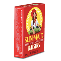 Sun-Maid Natural Raisins, 1oz, 6 Count - Water Butlers