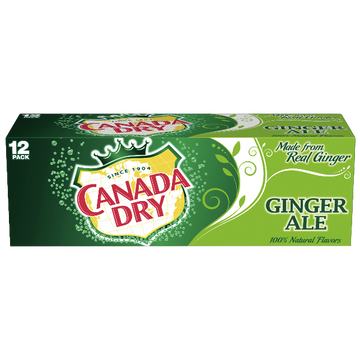 Canada Dry Ginger Ale - 12 Count