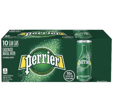 Perrier Original Sparkling Water, 10 Ct