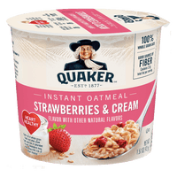 Quaker Strawberry & Cream Oatmeal 1.69 oz - Water Butlers