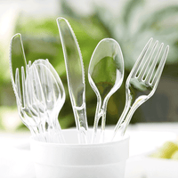 Assorted Clear Cutlery, 48 Ct - Water Butlers