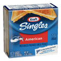 Kraft Singles American Cheese Slices, 16 Ct