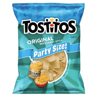 Tostitos Tortilla Chips Party Size Original Restaurant Style 18 oz - Water Butlers