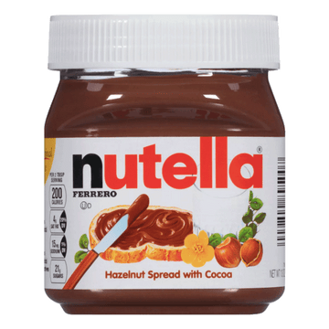 Nutella Ferrero Chocolate Hazelnut Spread, 13 Oz
