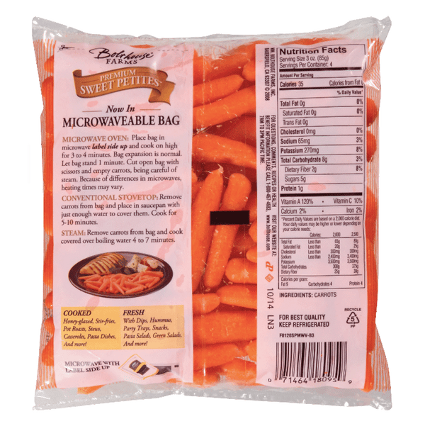 Premium Sweet Carrots 12 oz. - Water Butlers