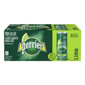 Perrier Lime Sparkling Water, 10 Ct