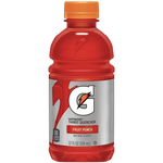 Gatorade Fruit Punch, 12oz bottle, 12 Ct - Water Butlers