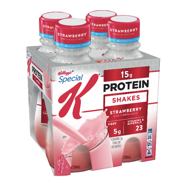 Special K Protein Shake, Strawberry 4 Ct - Water Butlers