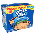 PopTarts Unfrosted Blueberry, 16 Ct