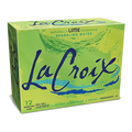 La Croix Lime Sparkling Soda Water, 12 Ct