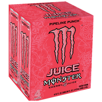 Monster Energy Pipeline Punch, 4 Ct - Water Butlers