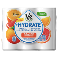 V8 Juice, Orange Grapefruit Hydrate 6 Ct - Water Butlers