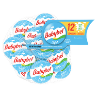 Mini Babybel Light Semisoft Cheese, 12 Ct - Water Butlers