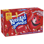 Kool-Aid Jammers, Cherry, 10 Ct - Water Butlers