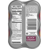 V8 Juice, Black Cherry Energy 6 Ct - Water Butlers