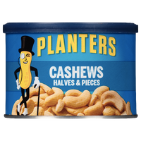 Planters Nuts, Cashews (Halves & Pieces) 8oz - Water Butlers