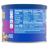 Planters Nuts, Mixed Nuts 10.3 oz - Water Butlers