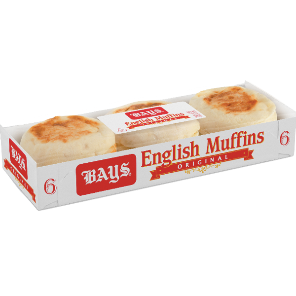 Bays Original English Muffins, 6 Ct - Water Butlers