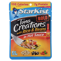 Starkist Tuna Creations Bold, With Rice & Beans in Hot Sauce