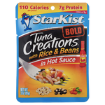 Starkist Tuna Creations Bold, With Rice & Beans in Hot Sauce - Water Butlers
