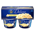 Kraft Mac & Cheese, Deluxe White Cheddar - 4Ct
