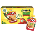 Mott's Applesauce Clear pouches, Cinnamon, 12 Ct
